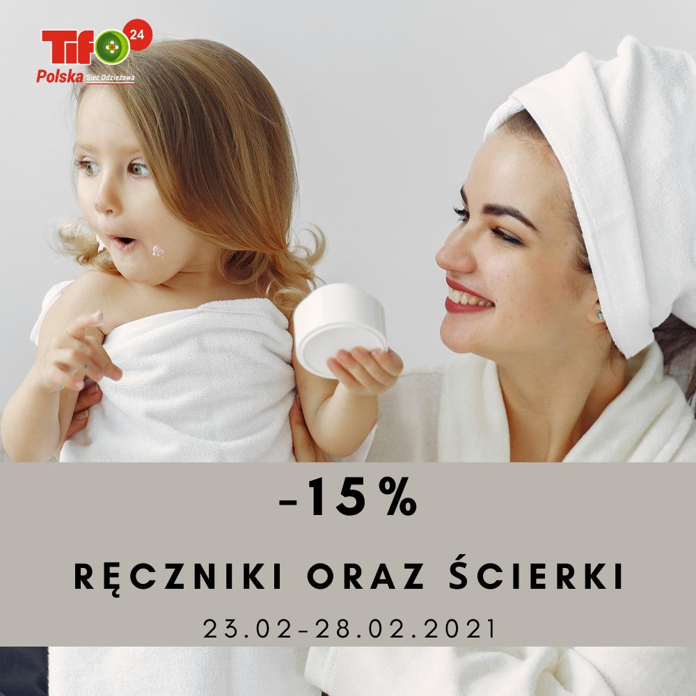 -15% ręczniki ścierki 23.02-28.02.2021